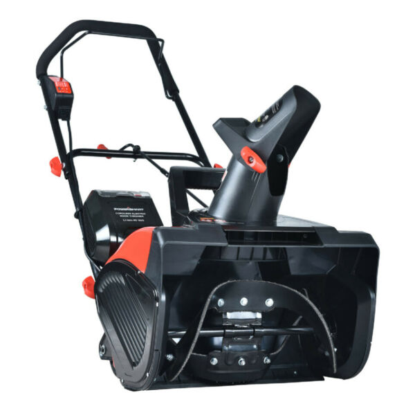 SNOW BLOWER Shovel Thrower 18quot; Electric Cordless 40V Battery Charger Included