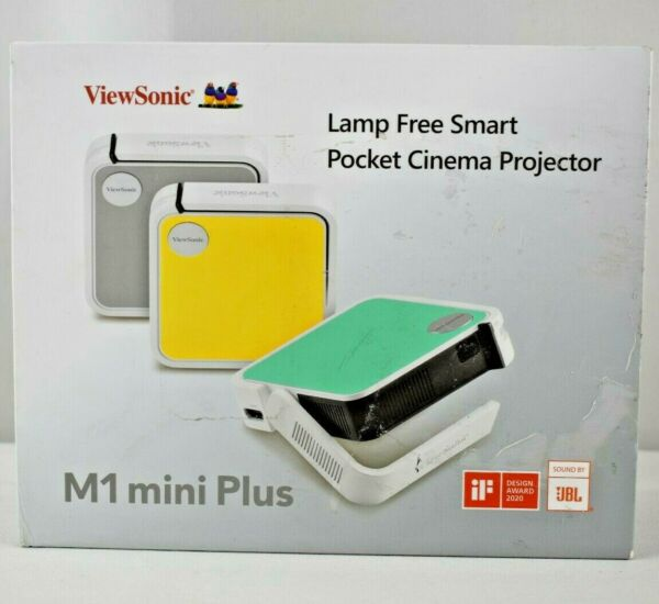 Viewsonic M1 Mini Plus Ultra portable Pocket Led Smart Projector 1080p Teal $160.00