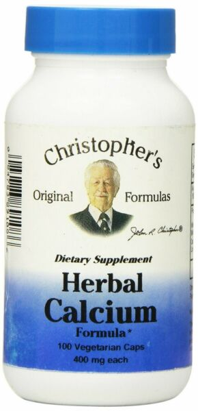 Dr Christopher#x27;s Formula Herbal Calcium Formula 400 mg 100 Count $17.71