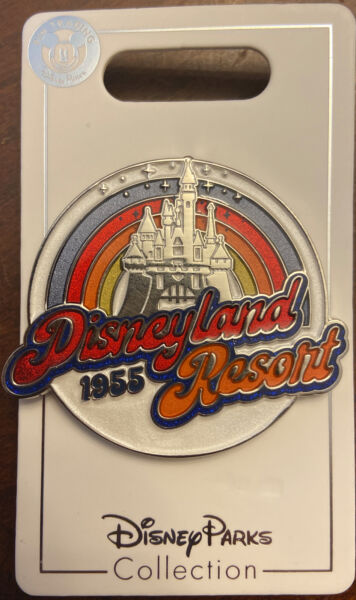 Disneyland Resort Retro OE Pin Disney Parks New Open Edition 1955 Castle $10.99