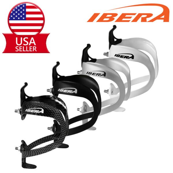 Ibera Bike Water Bottle Cage Lightweight Aluminum Bicycle Drink Holder 4 Colors $6.99