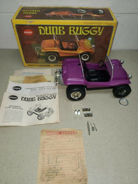 Vintage Cox Gas Powered Dune Buggy in Box UNTESTED