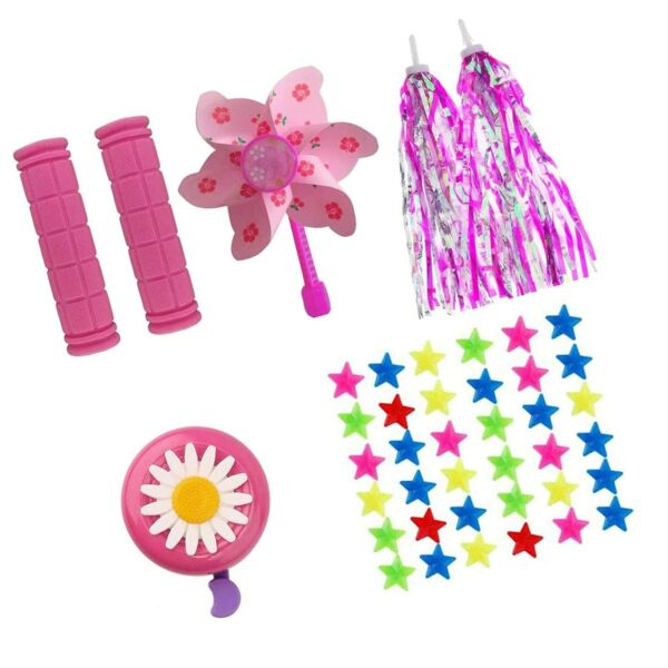 MeiMeiDa Bike Accessories for Kids Girls Bike Bicycle Decorations Including P... $27.99