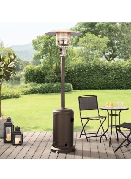 Mainstays Mocha 48000 BTU Outdoor Propane Patio Heater Propane LOCAL PICKUP