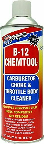 B 12 Chemtool Carburetor Choke amp; Throttle Body Cleaner with Extension Tube $17.54