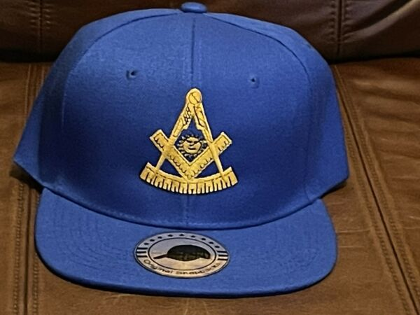 Masonic Past Master Embroidered Hat Snap Back $12.00