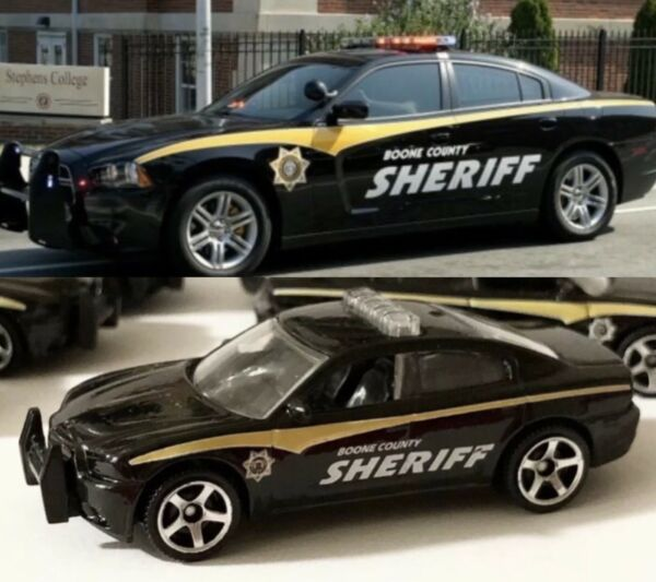 Matchbox Dodge Charger Pursuit Police Boone County Sheriff $16.00