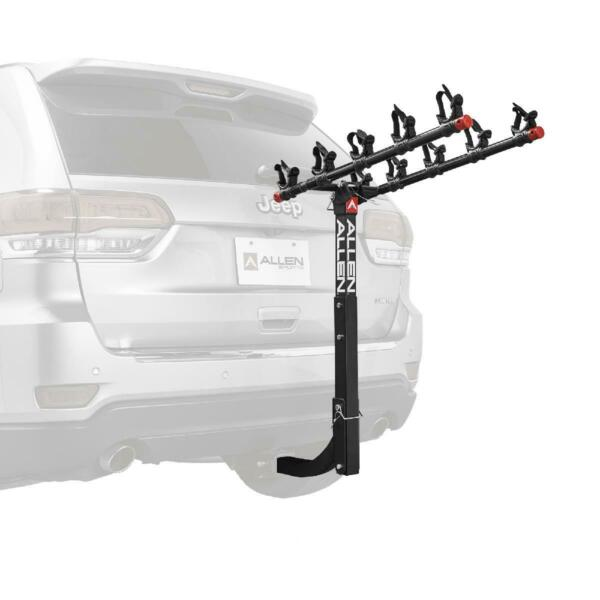 Allen Sports Deluxe 5 Bicycle Hitch Mounted Bike Rack 552RR $125.74