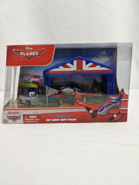Disney Planes Bulldog Pit Row Die Cast Pit Row Gift Pack Mattel