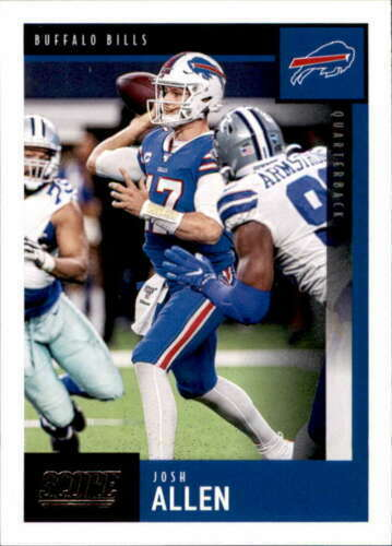 2020 Score Football Josh Allen #3 Buffalo Bills $1.09