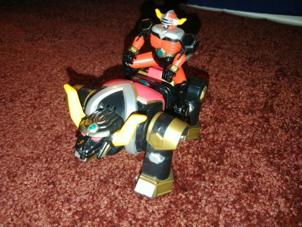 Power Rangers Lost Galaxy 5quot; Torozord Space Ranger Bandai 1998 incomplete