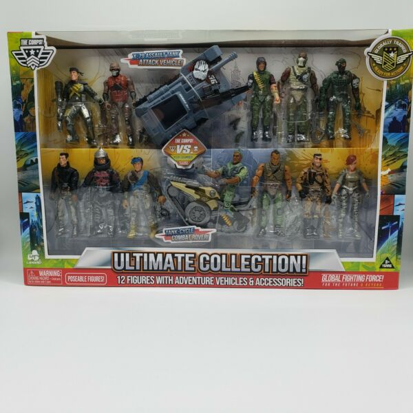 The Corps Vs The Curse Ultimate Collection 12 Figures With Adventure Vehicles
