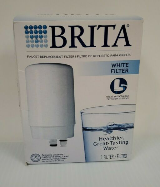 Brita Faucet System Replacement Water Filter Cartridge White Finish FR 200 NEW