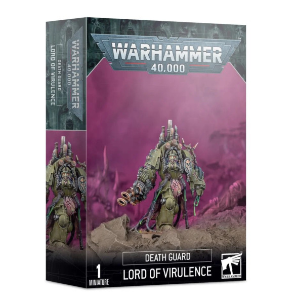 Lord of Virulence Death Guard Chaos Space Marines Warhammer 40K NEW