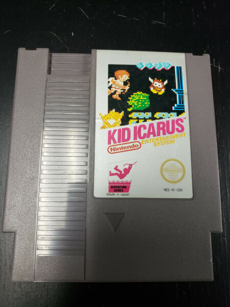 Kid Icarus NES 8 Bit Nintendo Cartridge Only Authentic