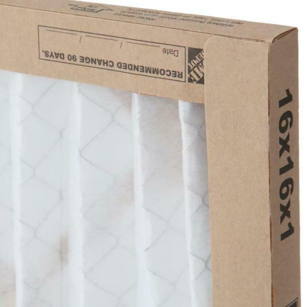 Rheem 16 x 16 Basic Household Pleated Air Filter Case of 12 $39.00