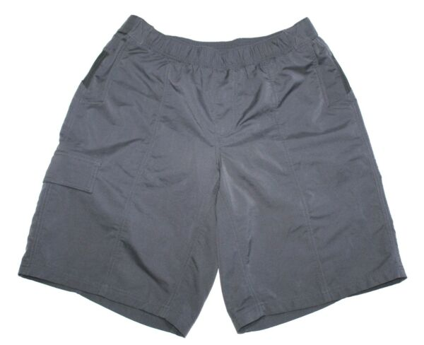 Cannondale Mountain Gray Black Bike Cargo Shorts Outer amp; Inner Men's Size Large $29.99