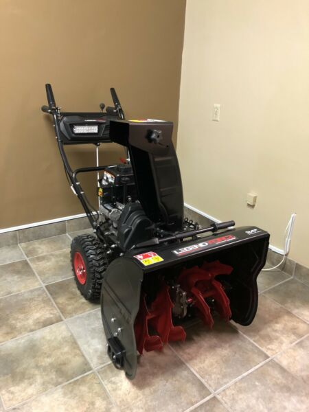 Legend Force 24 in. Two Stage Gas Snow Blower with Electric Start
