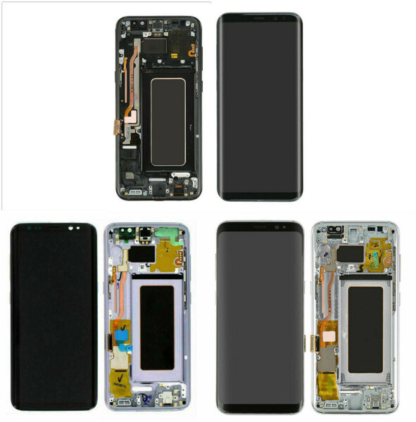 Samsung Galaxy S8 Plus G955 LCD Replacement Screen Digitizer W Frame Shadow