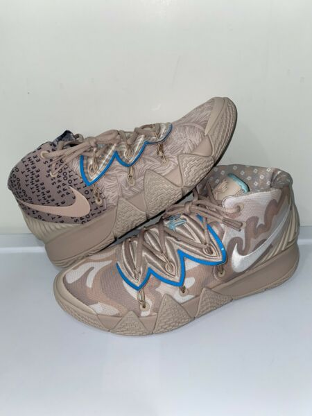 Nike Kyrie Kybrid S2 CQ9323 200 Fossil Stone Glacier Ice Shoes Mens Size 11.5 $100.00