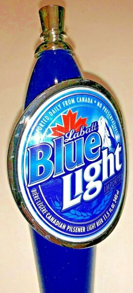 *NEW* LABATT#x27;S BLUE LIGHT LAGER BEER TAP HANDLE 12quot;