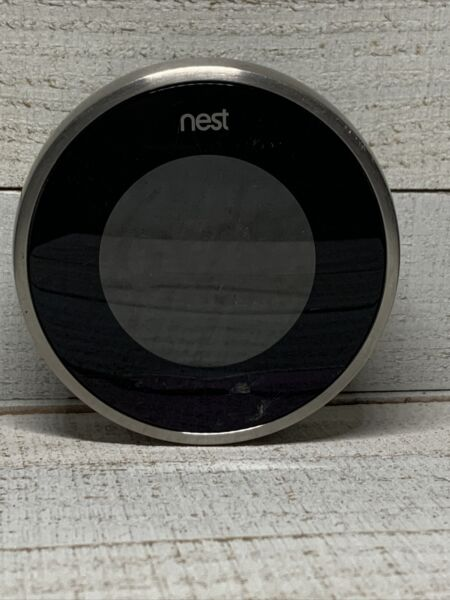 Nest Learning Thermostat 2nd Gen Silver Smart Home $79.99
