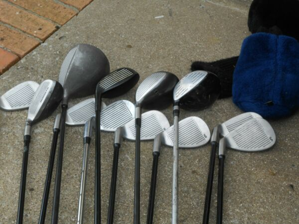 ONE SET OF GOLF CLUBS OVERSIZE.