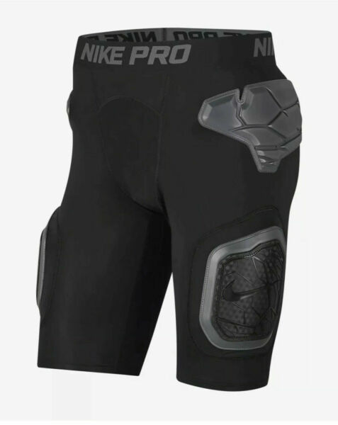 Nike AO6229 010 MEN Black Sport Hyperstrong Short Football Girdle PICK SIZE $70