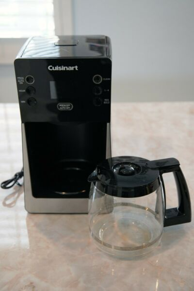 Cuisinart 14 Cup Temp Programmable Coffee Maker DCC 2800 SHIP LIGHTLY USED