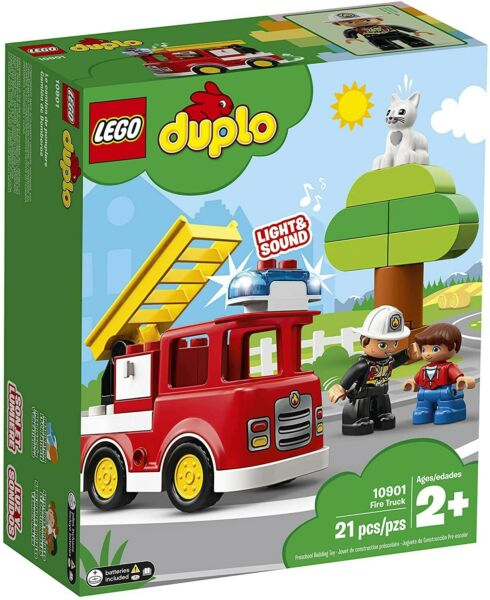 LEGO duplo Fire Truck Brand New Free Shipping