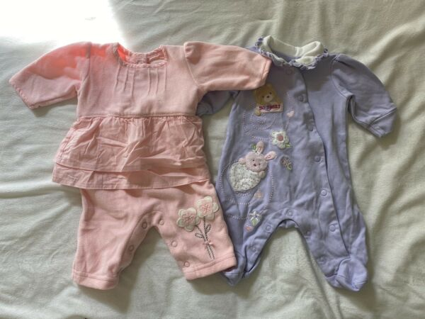 Baby Girls Outfits Size Newborn 2 Pieces