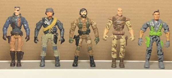 Lanard Corps Lot Of 5 Modern Military Action Figures