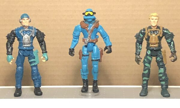 Lanard Corps Lot Of 3 Modern Military Action Figures