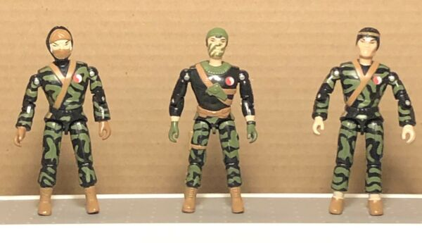 Lanard Corps Lot Of 3 Vintage Military Action Figures