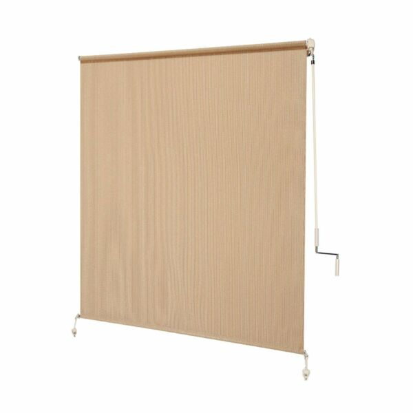 Coolaroo Exterior Roller Shade Cordless Roller Shade with 80% UV Protection $55.00