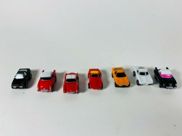 Micro Machines Lot of 7 Corvettes 1980s Galoob Small Car Vehicles Toys $39.99