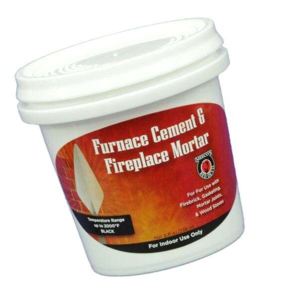 MEECO#x27;S RED DEVIL 1352 Furnace Cement and Fireplace Mortar Gray $17.99