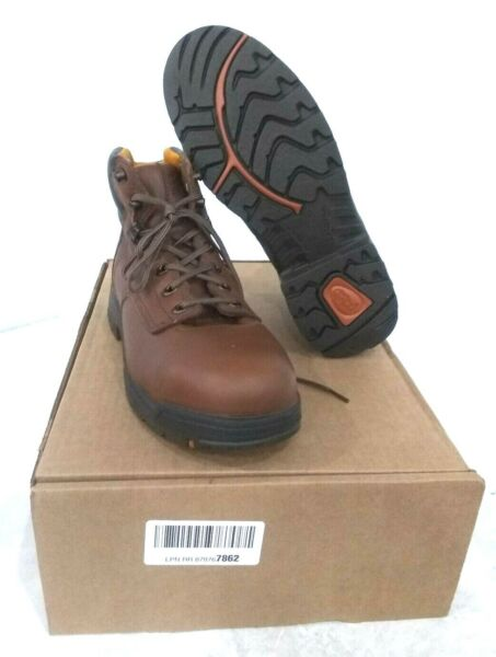 Timberland PRO Men#x27;s Titan 6quot; Safety Toe Work Boot Brown SZ 9 $67.50