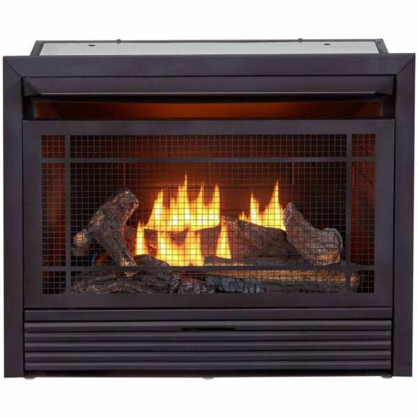 Duluth Forge Recon Vent Free Gas Fireplace Insert 26000 BTU #FDF300T R