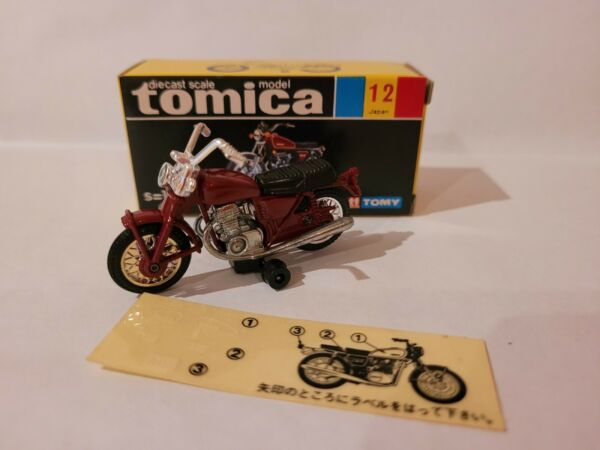 TOMICA 12 YAMAHA SPORTS TX750 RED NEAR MINT VHTF BOX GREAT MADE IN JAPAN AU $229.95