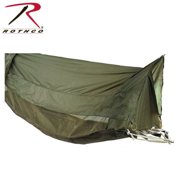 Rothco Jungle Hammock with Roof and netting Camping Hiking Outdoors Bushcraft $62.00