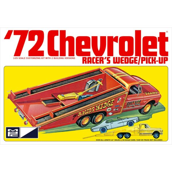 MPC 1 25 1972 Chevy Racer#x27;s Wedge Pick Up Model Kit