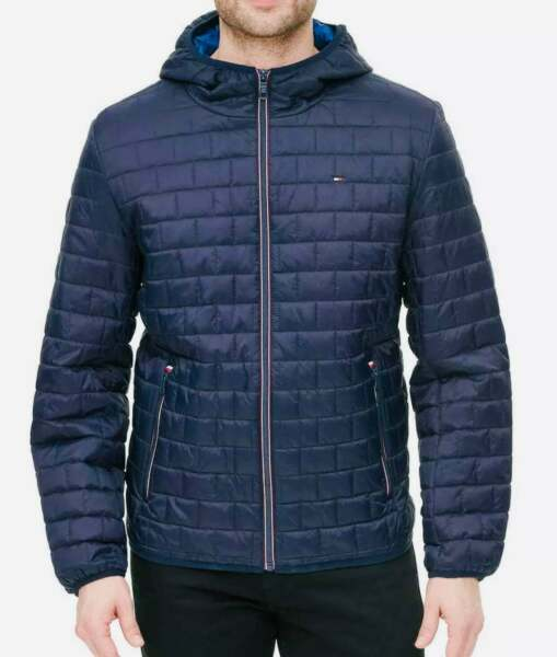SALE Tommy Hilfiger Men#x27;s Quilted Packable Puffer Jacket VARIETY A13 $46.05