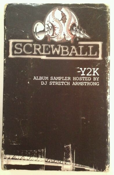 Screwball Y2K Sampler Cassette DJ Stretch Intro Rare 1999 NYC Rap Tested Works
