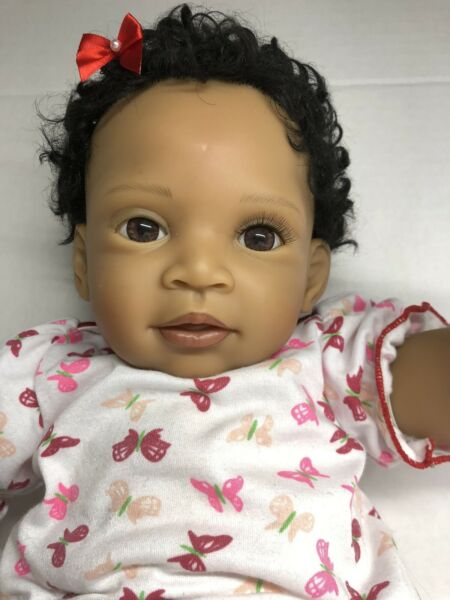 the ashton drake galleries quot;sweet butterfly kissesquot; african american doll