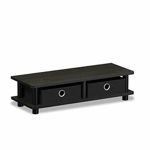 Modern Coffee TV Stand Table Riser Shelf Wood End Monitor Furniture for 32 inch $29.69
