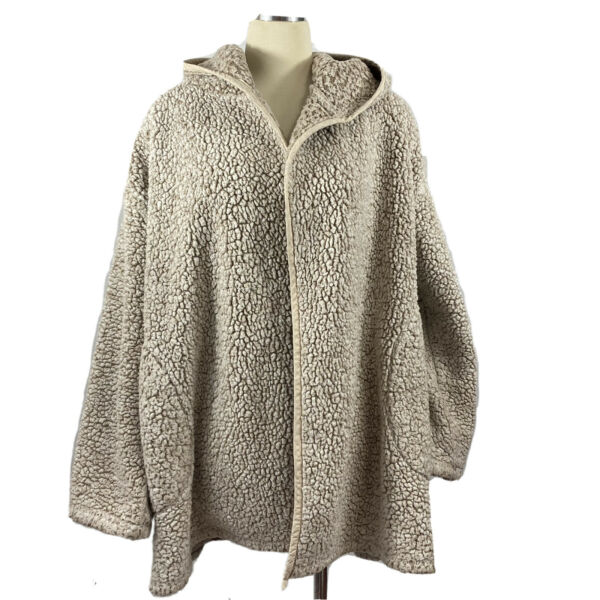Out from Under for Urban Outfitters Jacket Hooded Oversized Fuzzy One Size $20.00