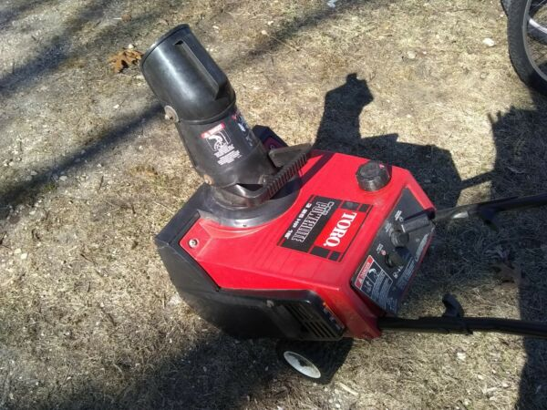 Toro PowerLite Snow Blower 3.25 hp Two Stroke Gas Snow Thrower