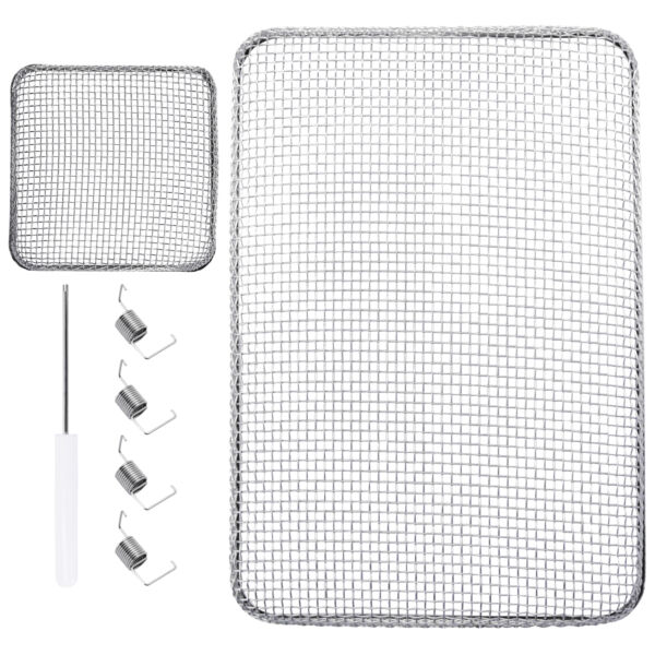RV Insect Vent Screen Cover Square 4.5quot; Furnace and 8.5 x 6quot; Water Heater LCW $15.99