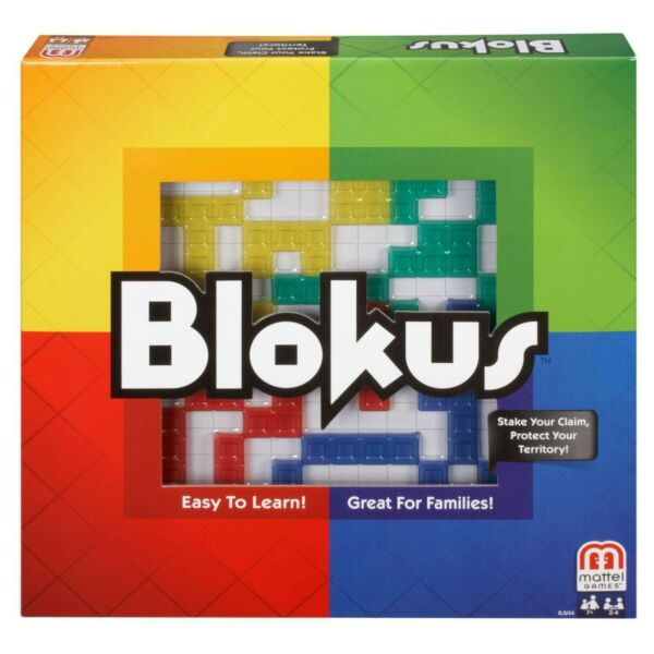 Mattel Blokus Family Fun Game for 2 4 Players Ages 7Y